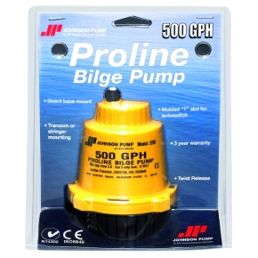 JohnsonPump Pompes de cale de type Pro-Line